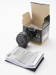 Nikon FTZ Bajonettadapter für NIKKOR-F-Objektive