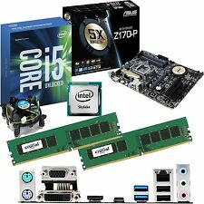 INTEL Core i5 6600K 3.5Ghz & ASUS Z170-P & 8GB DDR4 2133 CRUCIAL Bundle