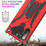 Military Armor Hybrid Stand Case Cover for Samsung Galaxy S8 S9 S10 Plus S7 Edge