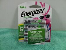 NEW Energizer Rechargeable Batteries AA 8 Pack - NIMH,  1.2V , 2000mAh