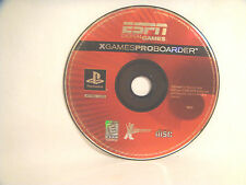 ESPN X Games ProBoarder - Disc only - PlayStation 1 (PSX)