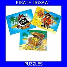 120 MINI PIRATE JIGSAW PUZZLES-PARTY BAGS LOOT BAGS