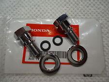 HONDA CL125 SS125 CA175 CB175 CL175 (2) FORK TUBE BOLT S CAP S  PAIR 23512