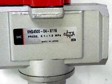SMC Residual Pressure Relief Valve 3 Way Lock Out VHS4500-04-X116