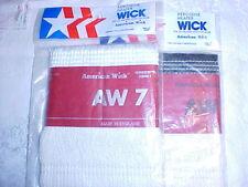 """Two KEROSENE HEATER WICKS  AW-7~4-7/8"""" x 8-1/4"""" by American Wick"""