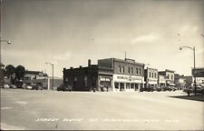 Blackduck MN Street Scene Real Photo Postcard