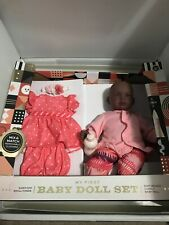 FAO SCHWARZ African American My First Baby Doll Set