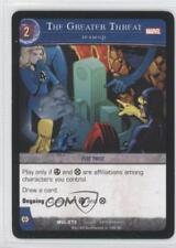 2007 VS System Marvel Legends Booster Pack Base #MVL-273 The Greater Threat 3v2