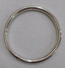 GENUINE 100% REAL 925 STERLING SILVER HANDCRAFTED BANGLE   NEW 1D884J NEW