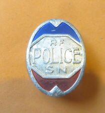Rare insigne de casquette de Police des années 45-47. Obsolète.