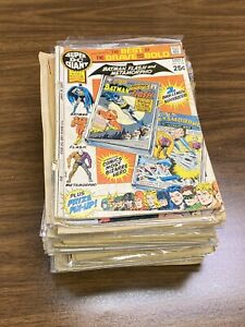 Collection 52 Silver Age / Bronze Age Comic Books (coverless / Reader's Copies)