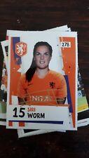 AH Voetbalplaatje 2018 2019 #278 Siri Worm Oranje Dames
