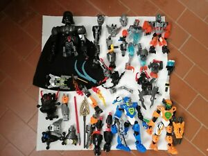 LOTTO LEGO BIONICLE - STAR WARS - INCOMPLETO LOOSE