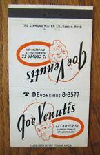 PERFECT 36: JOE VENUTIS ITALIAN RESTAURANT (BOSTON, MASSACHUSETTS) (c1940s) -G16