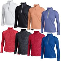 NEW Women's Lady Under Armour 1/4 Zip Golf Shirts - Choose Style, Color & Size!