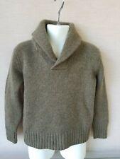 Polo Ralph Lauren Litte Boys Cashmere Blend  Shawl Collar Sweater  Size 4