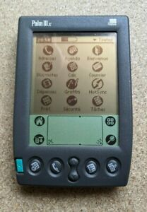 Palm IIIx organiser - working condition - French ROM Francaise