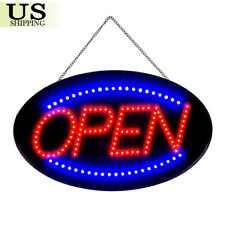 Led 19x10 Open Sign Business Store Advertisement Board Electric Display Light