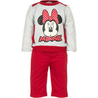 Disney Baby Boys Girls Mickey Minnie Mouse Outfit Set Tracksuit Trousers Jumper