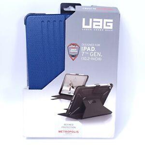 "UAG - Metropolis Folio Case for Apple iPad 10.2"" (7th Generation 2019) Blue"