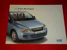 FIAT MULTIPLA Active + Dynamic prospetto di 2006