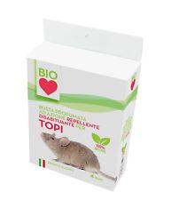 Busta profumata ad azione repellente disabituante per topi