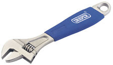 Genuine DRAPER 200mm Soft Grip Adjustable Wrench | 88602