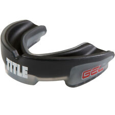 Title Boxing Gel Triple-Shox Mouthguard - Black/Gray