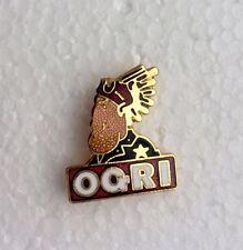 Ogri Pin Badge. Ace Cafe Racer, Piston Broke, Ton Up Pirate, Manx Biker IOM TT