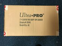 """500 Ultra Pro 3"""" x 4"""" 100pt Clear Toploaders Factory Sealed - (1/2 Case) NEW"""