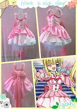 Mermaid Melody Pichi Pichi Pitch Ruchia Luchia Nanami dress cosplay costume