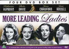 MORE LEADING LADIES BETTE DAVIS JANE RUSSELL KATHERINE HEPBURN JOAN CRAWFORD DVD
