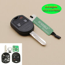 New Keyless Remote Key 3 Button For Ford Mustang Exploror Edge 433MHZ 4D63 80Bit