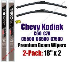 Wipers 2pk Premium fit 1990-2002 Chevy C60 C70 C5500 C6500 C7500 Kodiak 19180x2