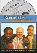 RONNIE TOBER & ALI B. - Er is niemand zoals jij CD SINGLE 2TR CARDSLEEVE 2012