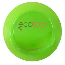 """EcoTop GREEN 3"""" in. Lid Top Cup Cover Spill-Proof Eco-Friendly Travel Coffee Mug"""
