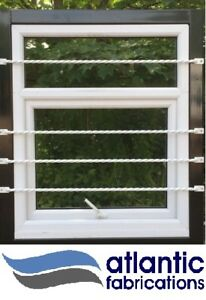 1100mm long twisted wrought iron /steel window security bars