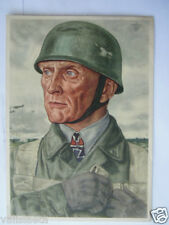 ALLEMAGNE 39-45 : CARTE POSTALE PARACHUTISTE GERMAN PARATROOPS FALLSCHIRMJÄGER
