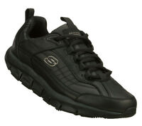 Skechers Men's SHAPE-UPS LIV SR-BRAWNY Casual  Non Slip Black 76990