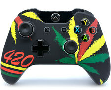 """420"" XBOX ONE RAPID FIRE MODDED CONTROLLER 40 MODS COD BO 3 IW GOW 4 and More"