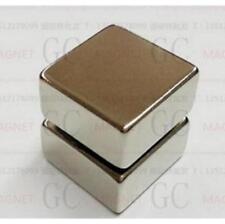 Super Strong Block Cuboid Magnets 20 x 20 x 10 mm Rare Earth Neodymium N50 ^