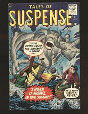 Tales of SUSPENSE # 6 VG/Fine Cond.