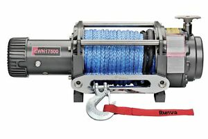 Runva EWN17500 12V with Synthetic Rope 10872799634