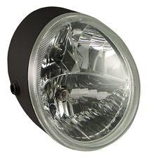 Black V-FACTOR HEADLIGHT LIGHT FOR V-ROD, Replaces HD# 68880-01