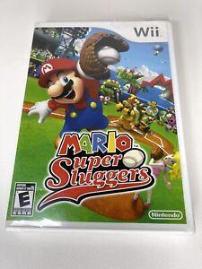 MARIO SUPER SLUGGERS NINTENDO Wii FACTORY SEALED **FREE FAST SHIP***