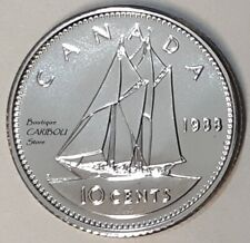 1988 Canada Proof-Like 10 Cents