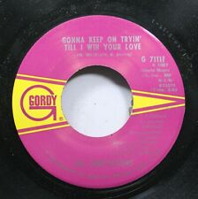 Soul 45 The Temptations - Gonna Keep On Tryin' Till I Win Your Love / Superstar