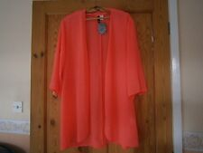 FLUORESCENT ORANGE EDGE TO EDGE KAFTAN/TOP SHIRT by H. & M. Size 10]. BNWT