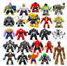 Lego and Custom Big Size Marvel Avengers DC Super Hero Mini Figures - Free P&P