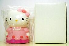 "MIB Hello Kitty 1998 Ceramic Coin Bank w ""76-98 SANRIO"" Molded on Base  6.2 Ozs."